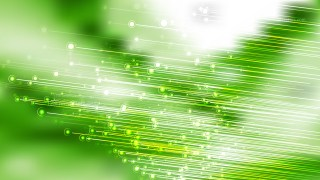 Abstract Green and White Diagonal Glowing Lines Background Illustrator