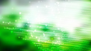 Green and White Glowing Diagonal Lines Abstract Background