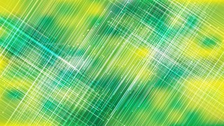 Green and Yellow Intersecting Shiny Lines Abstract Background