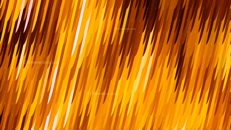 Abstract Orange Diagonal Lines and Stripes Background