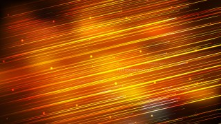 Shiny Orange and Black Diagonal Lines Abstract Background Graphic