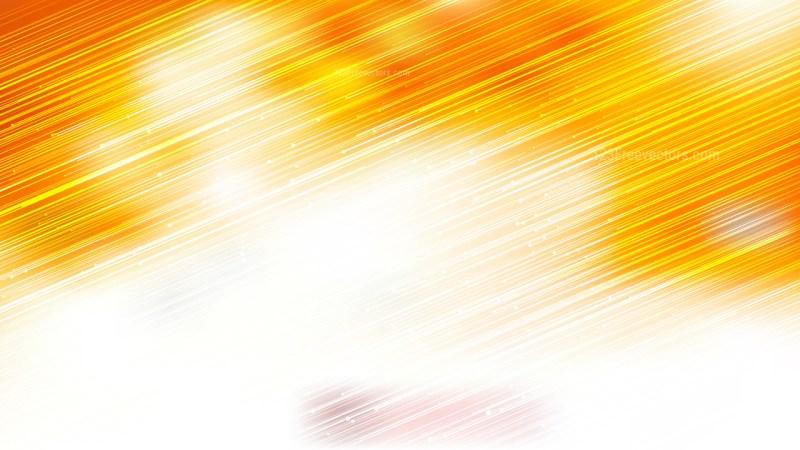 Shiny Orange and White Diagonal Lines Background
