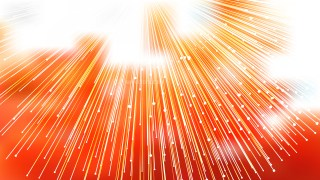 Abstract Orange and White Light Rays Lines Background Graphic