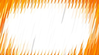 Orange and White Diagonal Lines and Stripes Background