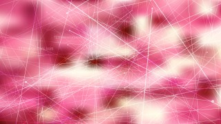 Abstract Random Chaotic Intersecting Lines Pink and Beige Background