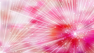 Abstract Chaotic Intersecting Lines Pink and White Background
