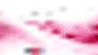 Abstract Random Intersecting Lines Pink and White Background Design