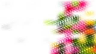 Abstract Crossing Random Lines Pink Green and White Background