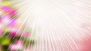 Abstract Shiny Pink Green and White Burst Lines Background