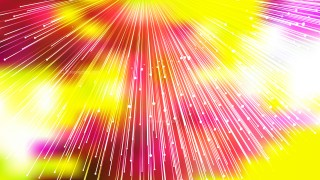 Pink Yellow and White Radial Lines Background