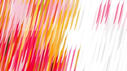 Abstract Pink Yellow and White Diagonal Lines and Stripes Background