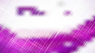 Abstract Asymmetric Random Lines Purple and White Background