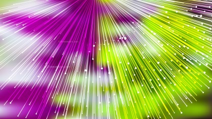 Abstract Purple Green and White Burst Lines Background Graphic