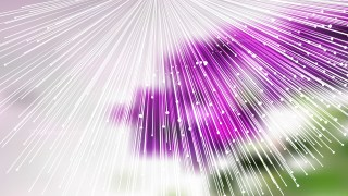 Shiny Purple Green and White Radial Burst Lines Background