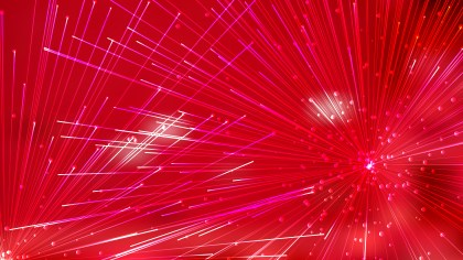 Abstract Red Asymmetric Irregular Lines Background
