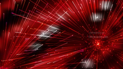 Abstract Geometric Random Irregular Lines Red and Black Background Illustrator