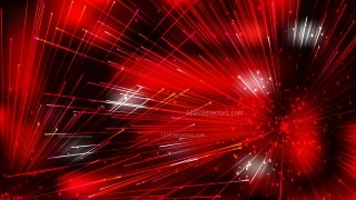 Abstract Dynamic Random Lines Red and Black Background Graphic