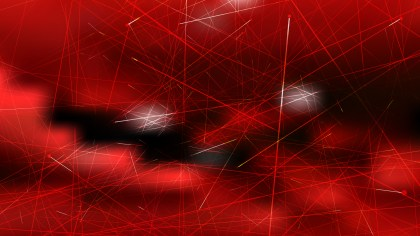 Abstract Dynamic Random Lines Red and Black Background