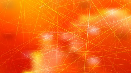 Abstract Geometric Random Irregular Lines Red and Orange Background Design