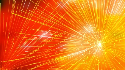 Abstract Random Chaotic Intersecting Lines Red and Orange Background