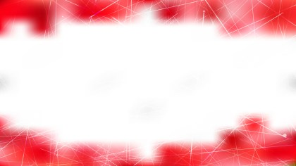 Abstract Random Intersecting Lines Red and White Background Vector Image