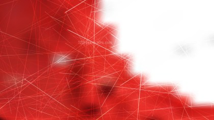 Abstract Random Intersecting Lines Red and White Background Illustrator