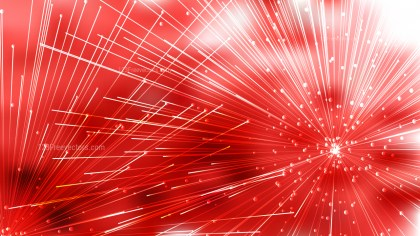 Abstract Red and White Asymmetric Irregular Lines Background Vector Graphic