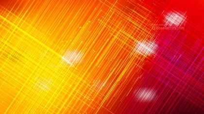 Shiny Red and Yellow Intersecting Lines Background