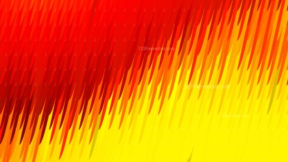 Abstract Red and Yellow Diagonal Lines and Stripes Background Vector Illustration