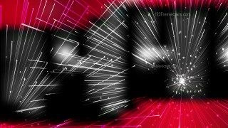 Abstract Crossing Random Lines Red Black and White Background Vector Illustration