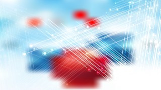 Abstract Red White and Blue Shiny Crossing Lines Background Illustration
