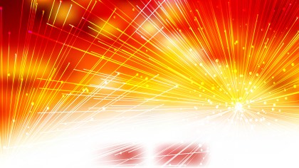 Abstract Random Chaotic Intersecting Lines Red White and Yellow Background Vector Image