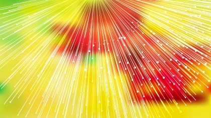 Red Yellow and Green Light Rays Lines Background Graphic