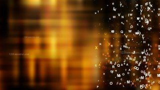 Abstract Cool Brown Letters Background