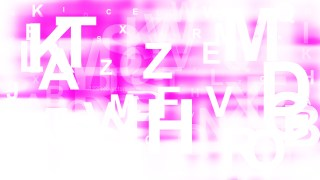 Abstract Pink and White Alphabet Background