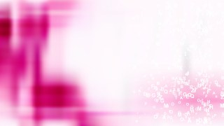 Pink and White Alphabet Letters Background
