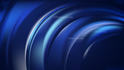 Abstract Black and Blue Background Design