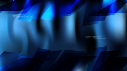 Abstract Black and Blue Background Vector Illustration
