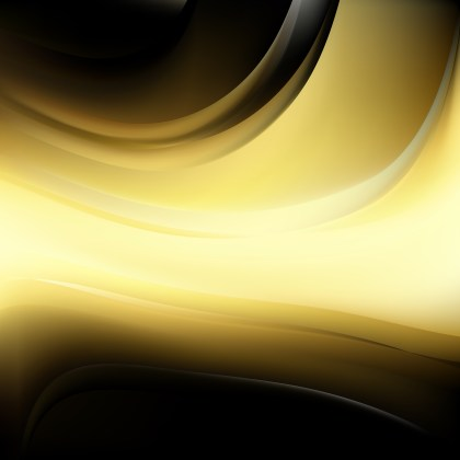 Abstract Black and Gold Background Vector Illustration