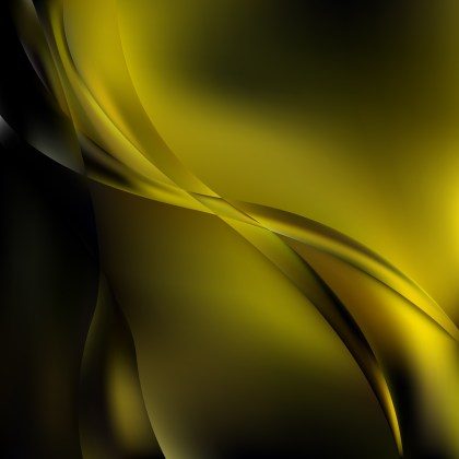 Abstract Black and Gold Graphic Background
