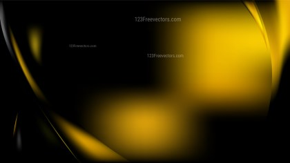 Black and Gold Background Vector Image