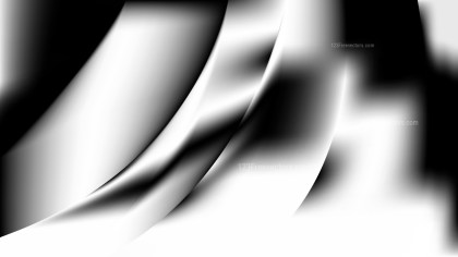 Abstract Black and White Background Design