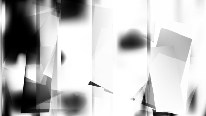 Abstract Black and White Background Vector Illustration