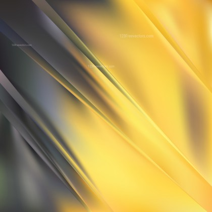 Abstract Black and Yellow Graphic Background