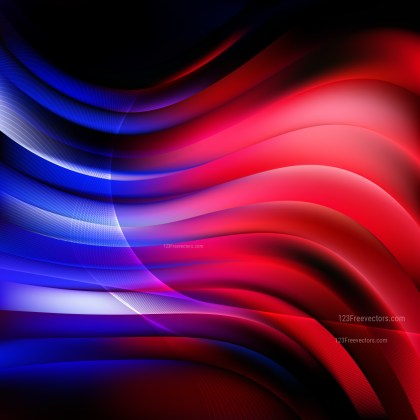 Abstract Black Red and Blue Background Vector Illustration