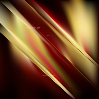 Black Red and Gold Background Vector Image