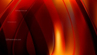 Abstract Black Red and Orange Graphic Background