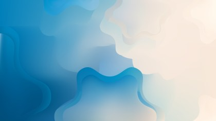 Blue and Beige Background Graphic