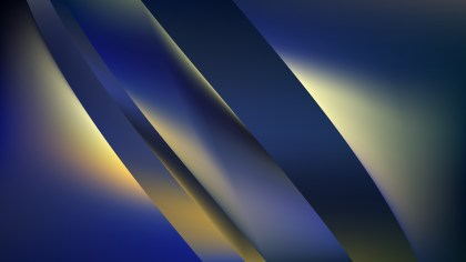 Blue and Gold Background Graphic