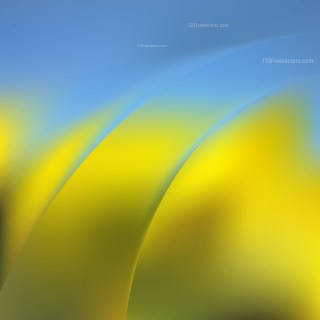Abstract Blue and Gold Background Design